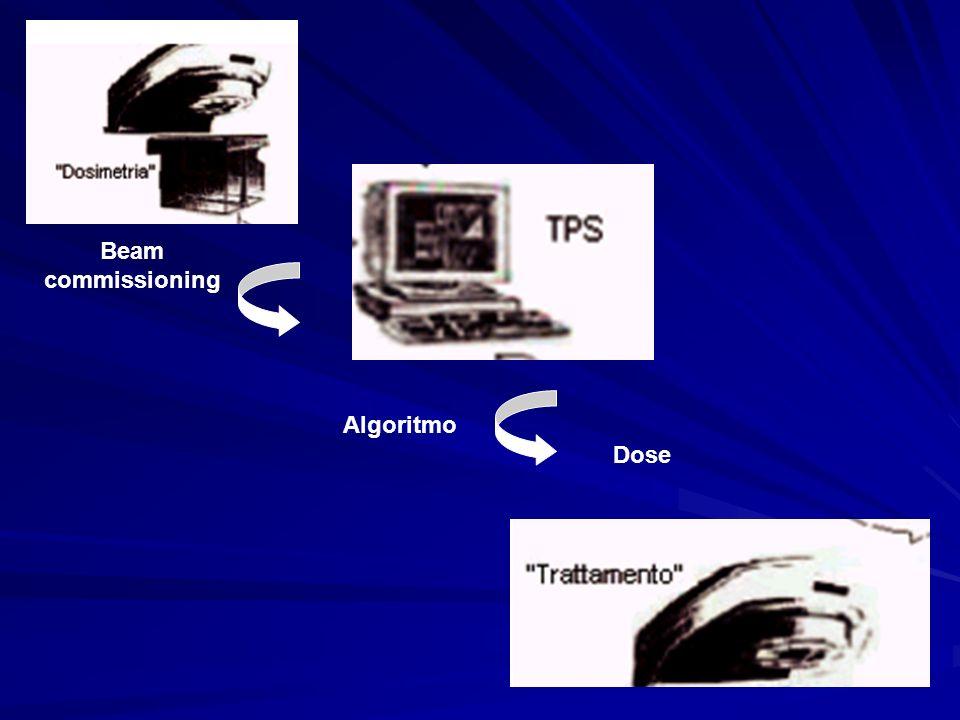 Beam commissioning Algoritmo Dose