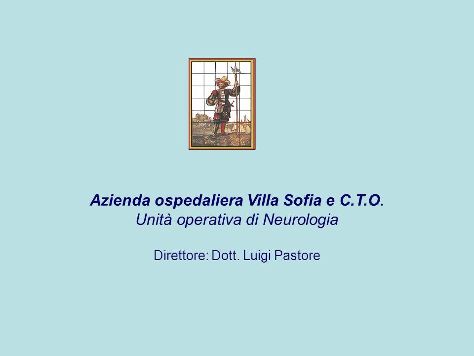Azienda ospedaliera Villa Sofia e C.T.O. Unità operativa di Neurologia