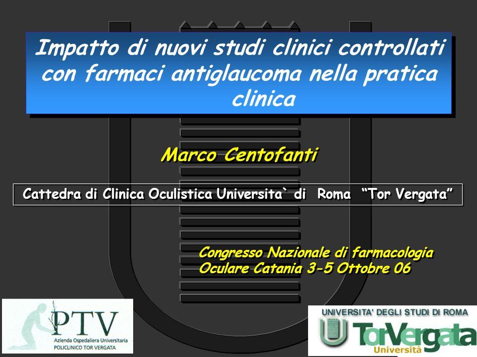 Cattedra di Clinica Oculistica Universita` di Roma Tor Vergata