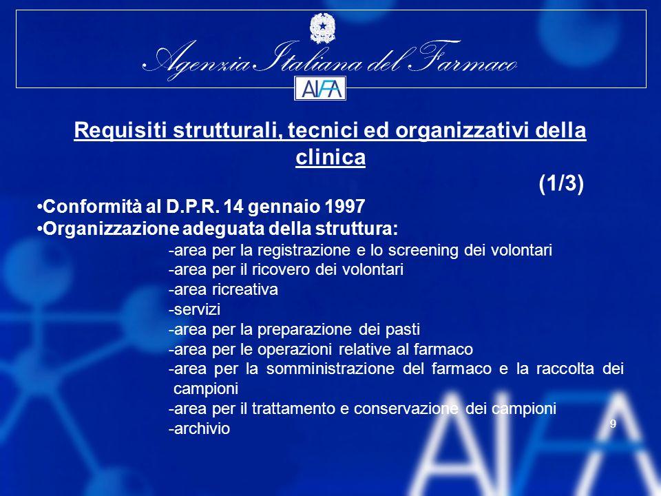Requisiti strutturali, tecnici ed organizzativi della clinica