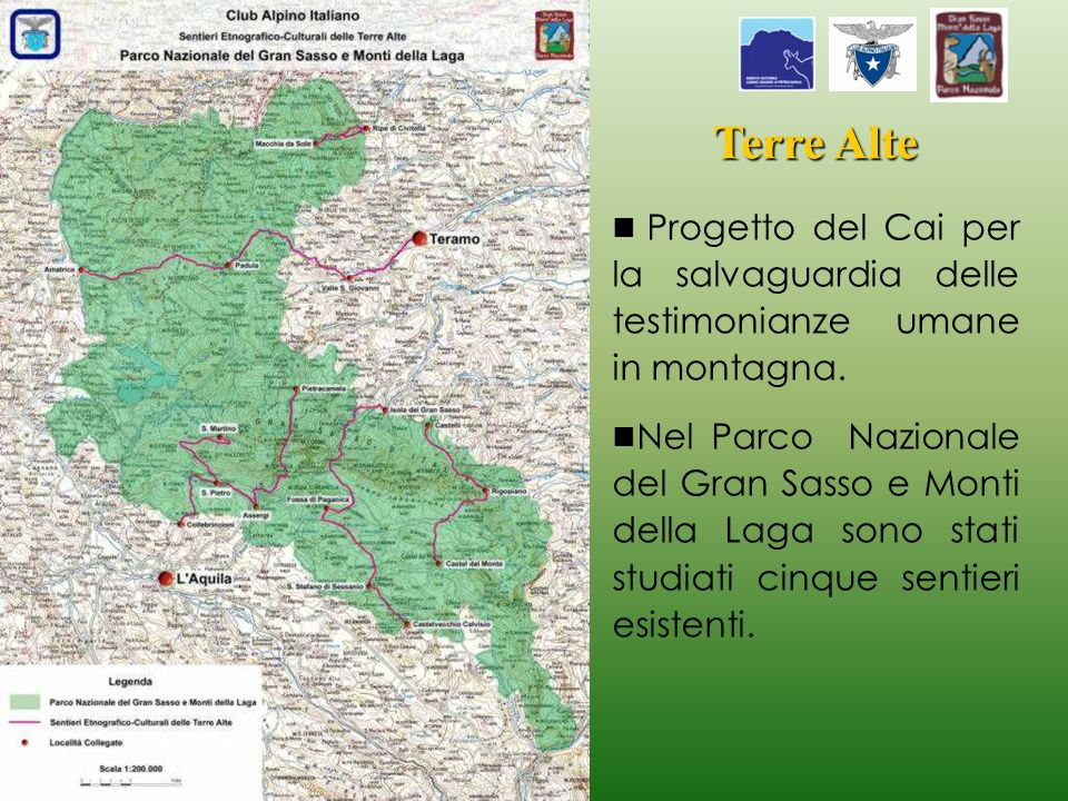 Terre Alte Progetto del Cai per la salvaguardia delle testimonianze umane in montagna.