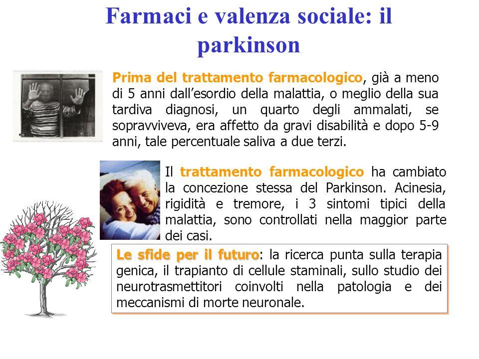Farmaci e valenza sociale: il parkinson