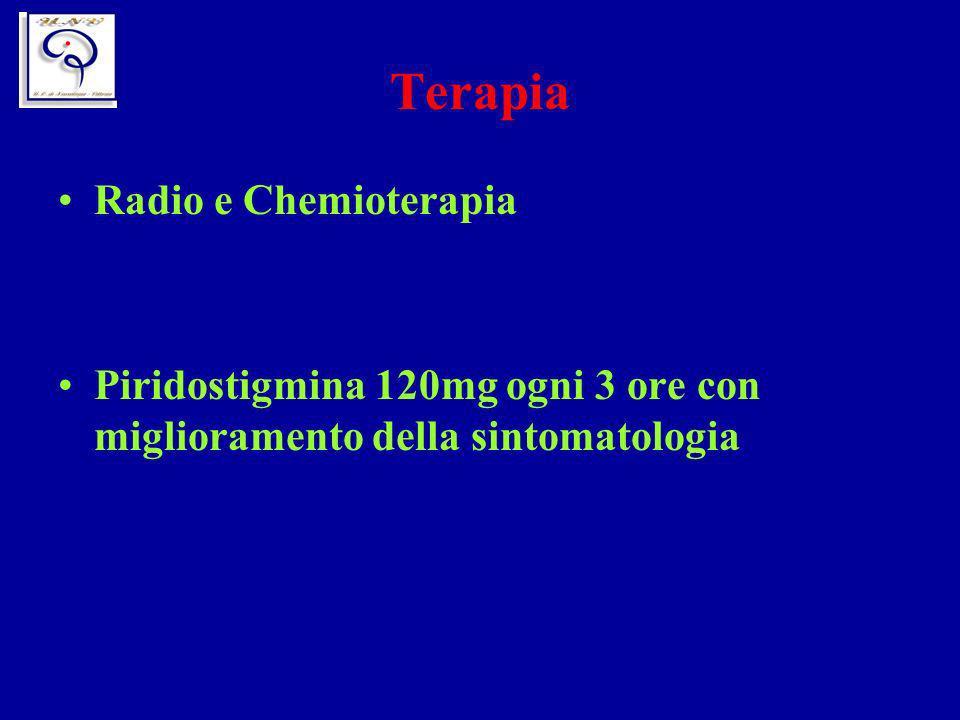 Terapia Radio e Chemioterapia