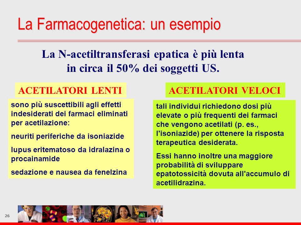 La Farmacogenetica: un esempio
