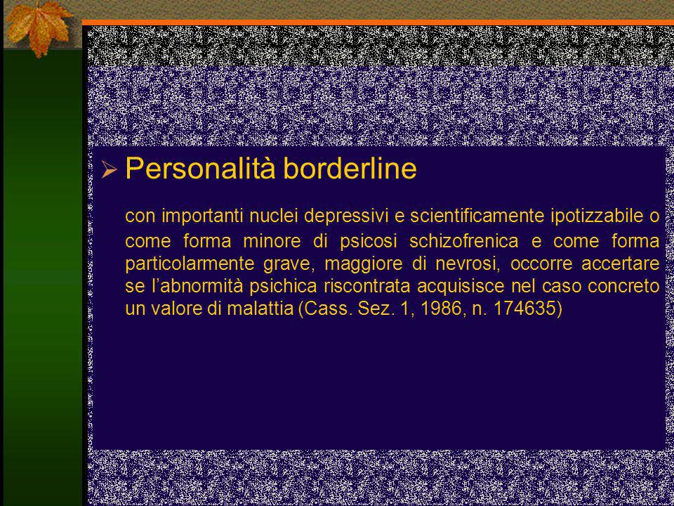 Personalità borderline