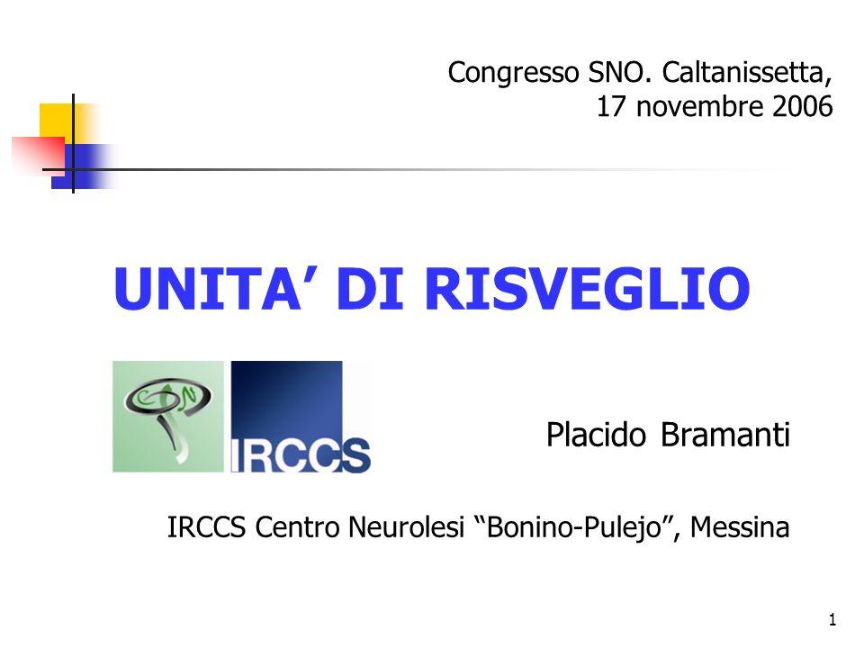Congresso SNO. Caltanissetta, 17 novembre 2006