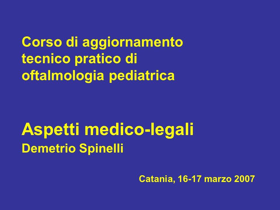 Corso di aggiornamento tecnico pratico di oftalmologia pediatrica