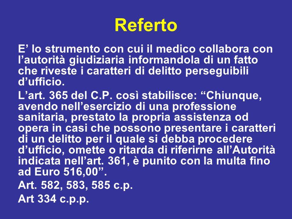 Referto