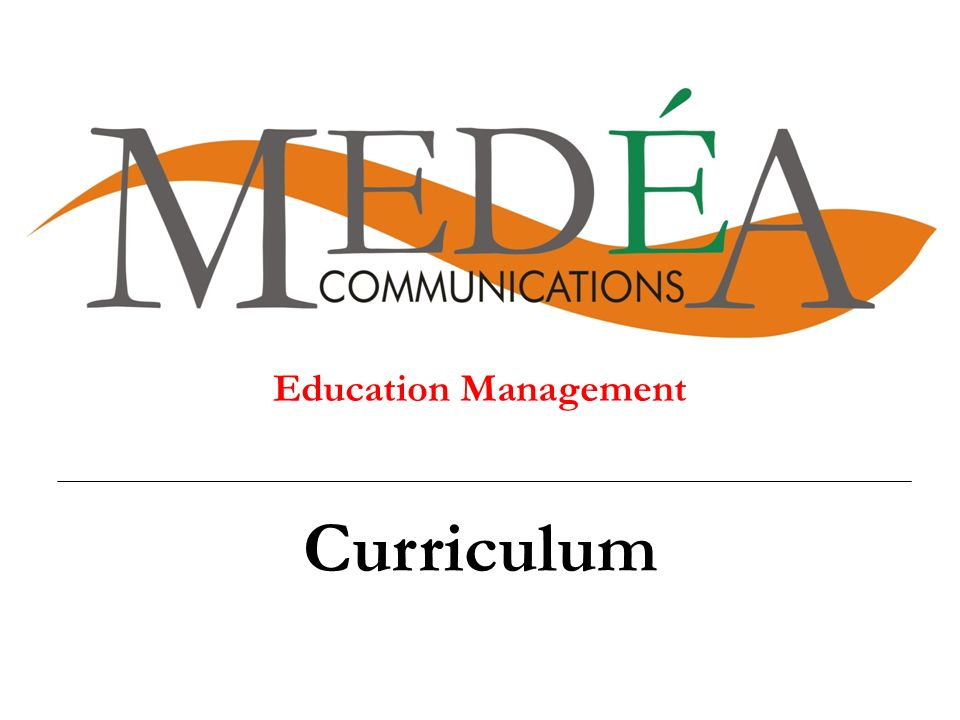Education Management Curriculum Rtert