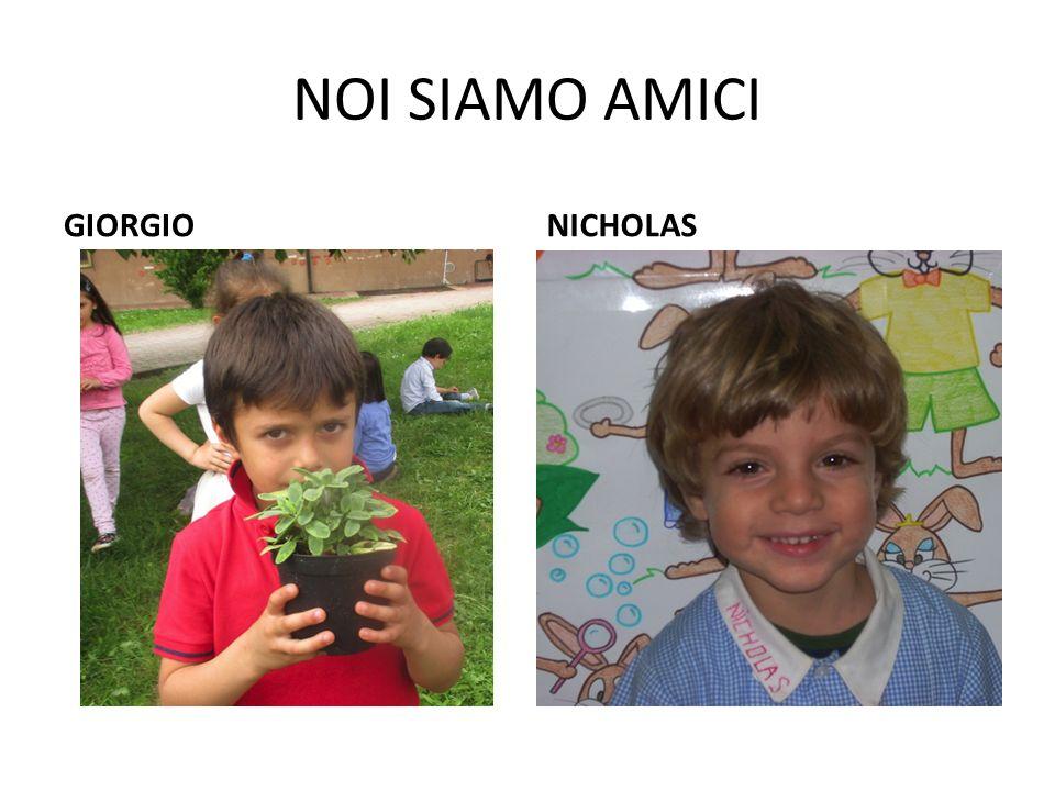 NOI SIAMO AMICI GIORGIO NICHOLAS