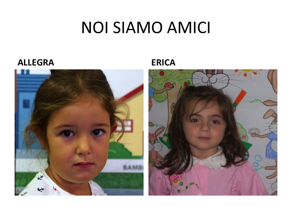 NOI SIAMO AMICI ALLEGRA ERICA