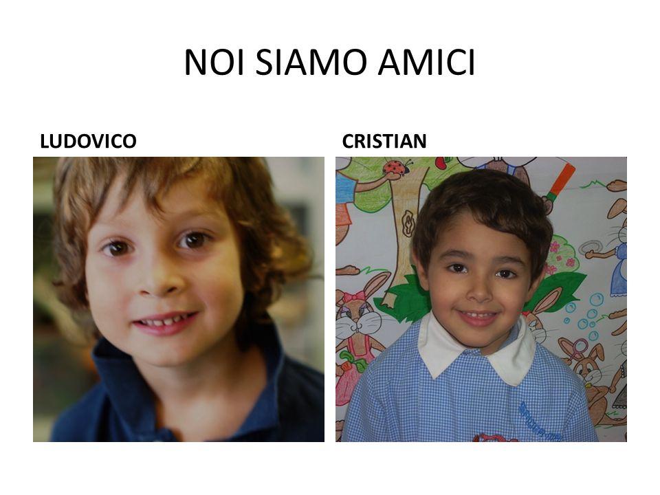 NOI SIAMO AMICI LUDOVICO CRISTIAN