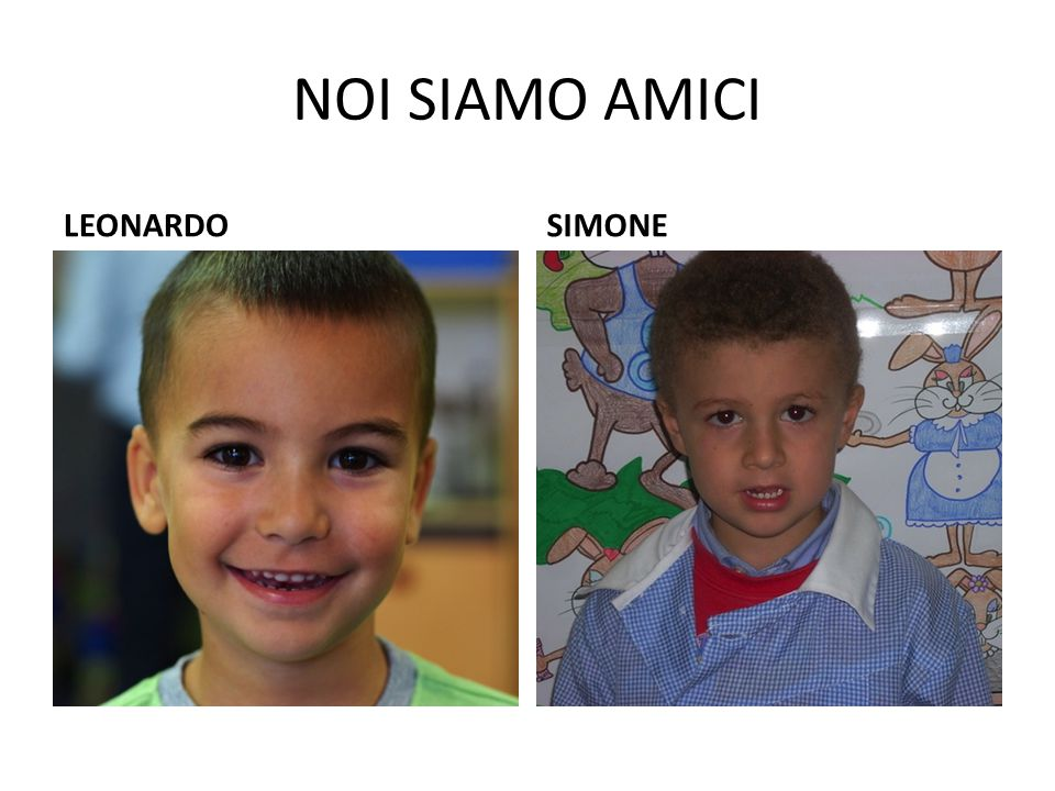 NOI SIAMO AMICI LEONARDO SIMONE
