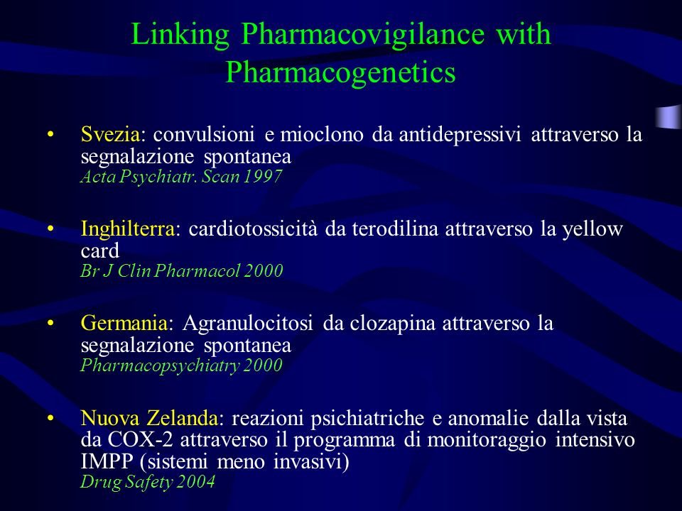 Linking Pharmacovigilance with Pharmacogenetics