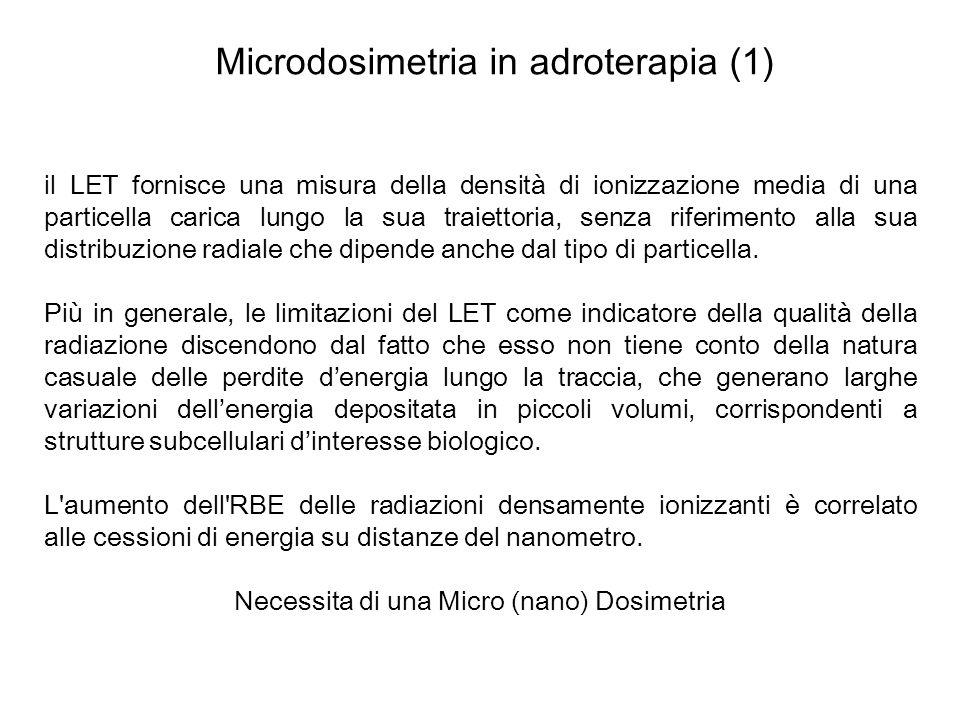 Microdosimetria in adroterapia (1)