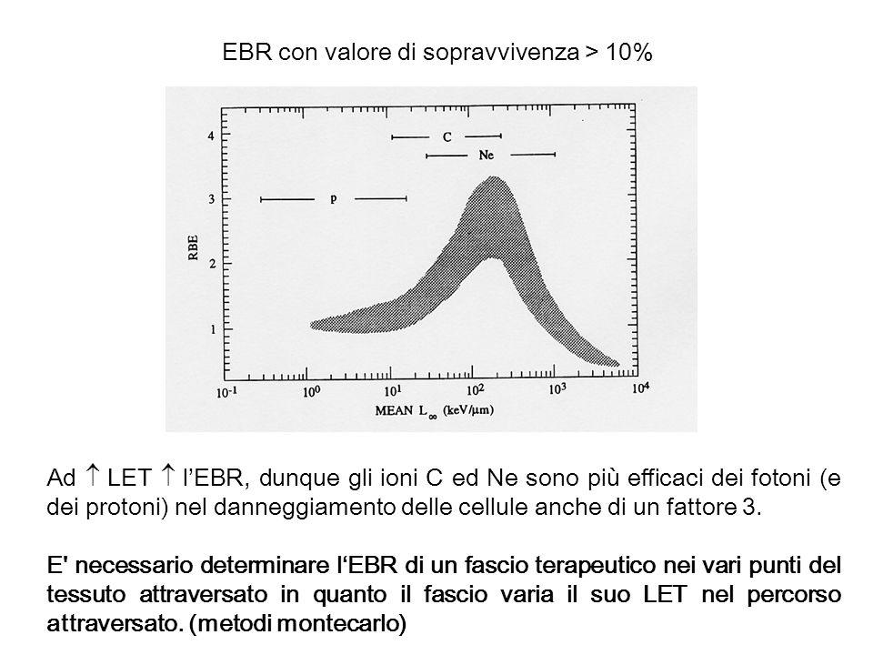 EBR con valore di sopravvivenza > 10%