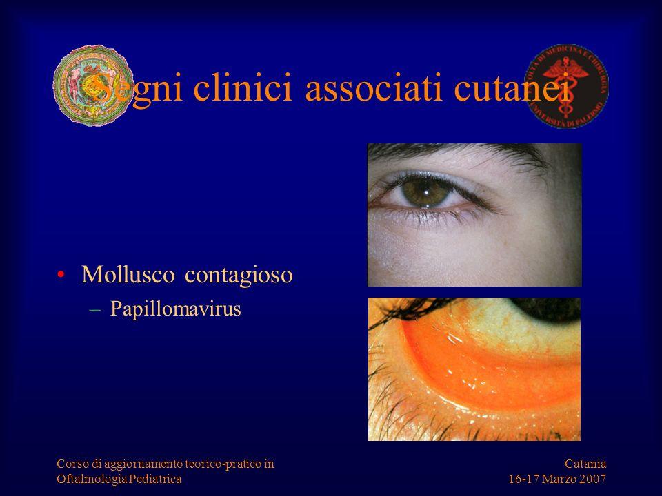 Segni clinici associati cutanei