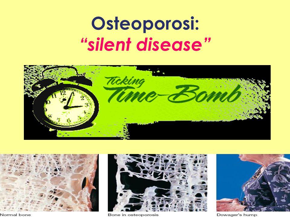 Osteoporosi: silent disease