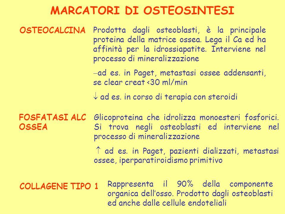 MARCATORI DI OSTEOSINTESI