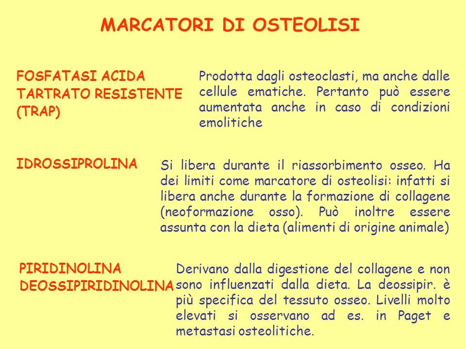 MARCATORI DI OSTEOLISI