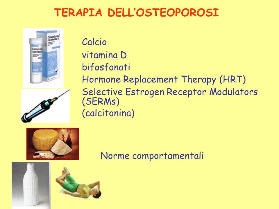 TERAPIA DELL'OSTEOPOROSI