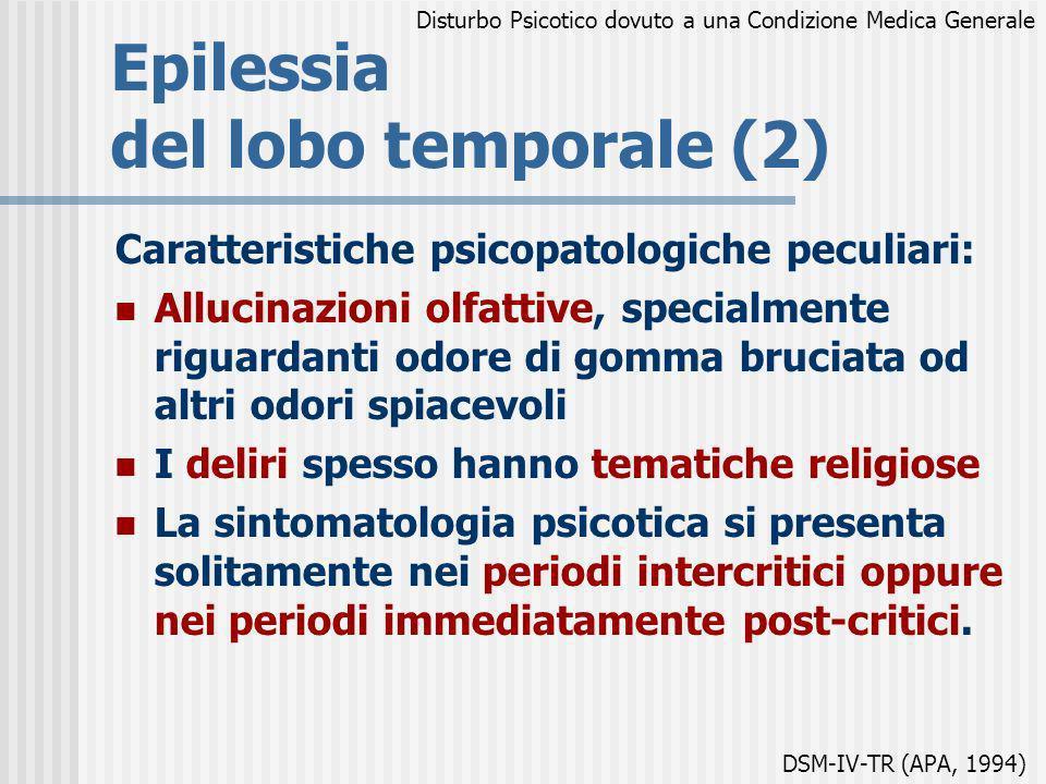 Epilessia del lobo temporale (2)