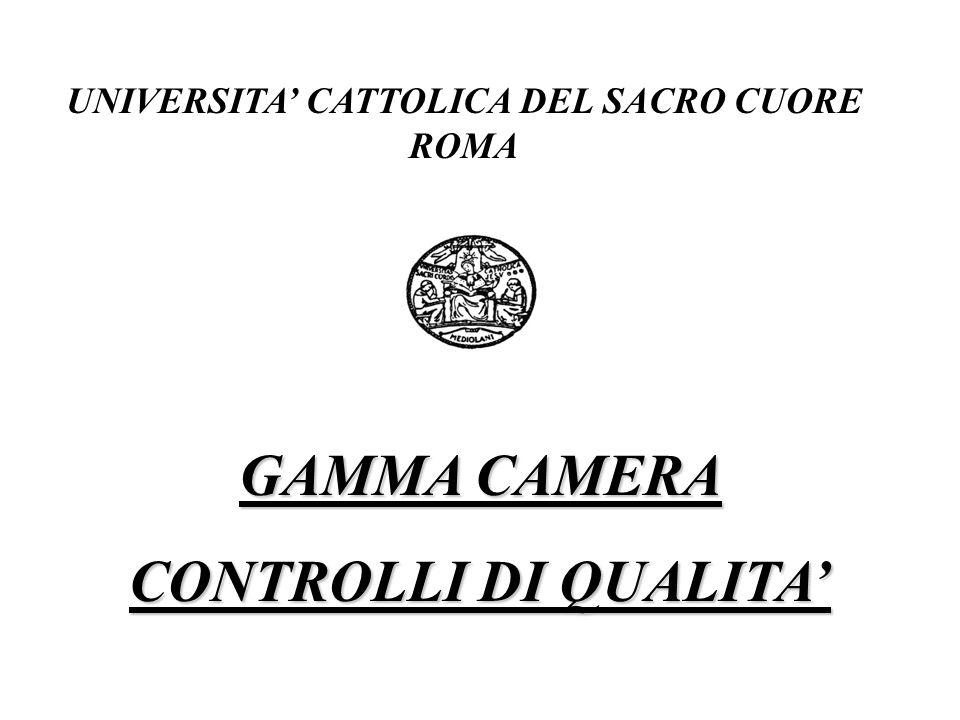 UNIVERSITA' CATTOLICA DEL SACRO CUORE ROMA
