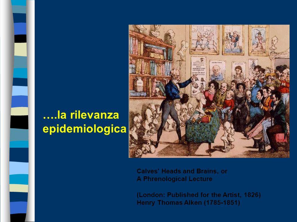 ….la rilevanza epidemiologica