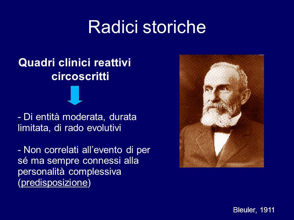 Quadri clinici reattivi circoscritti