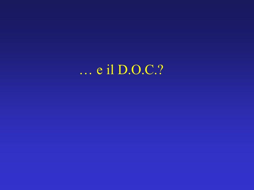 … e il D.O.C.