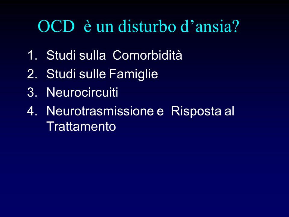 OCD è un disturbo d'ansia