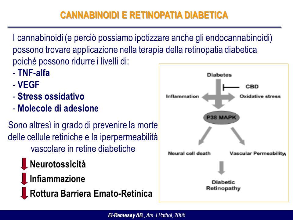 CANNABINOIDI E RETINOPATIA DIABETICA
