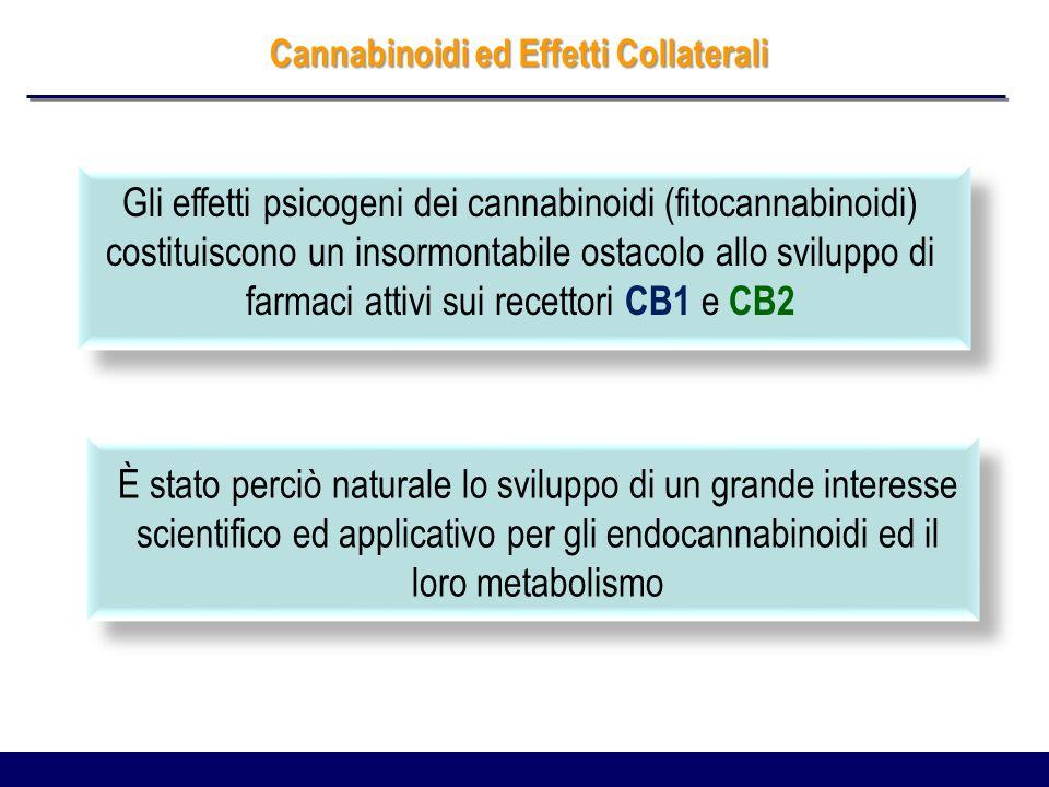 Cannabinoidi ed Effetti Collaterali