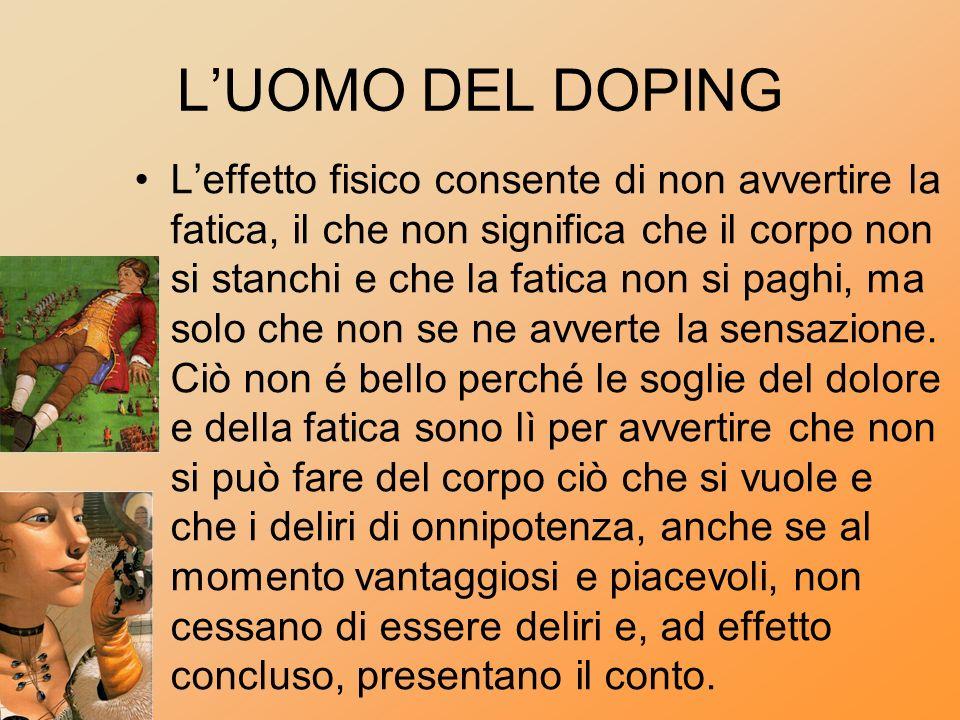 L'UOMO DEL DOPING
