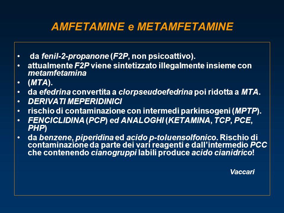 AMFETAMINE e METAMFETAMINE