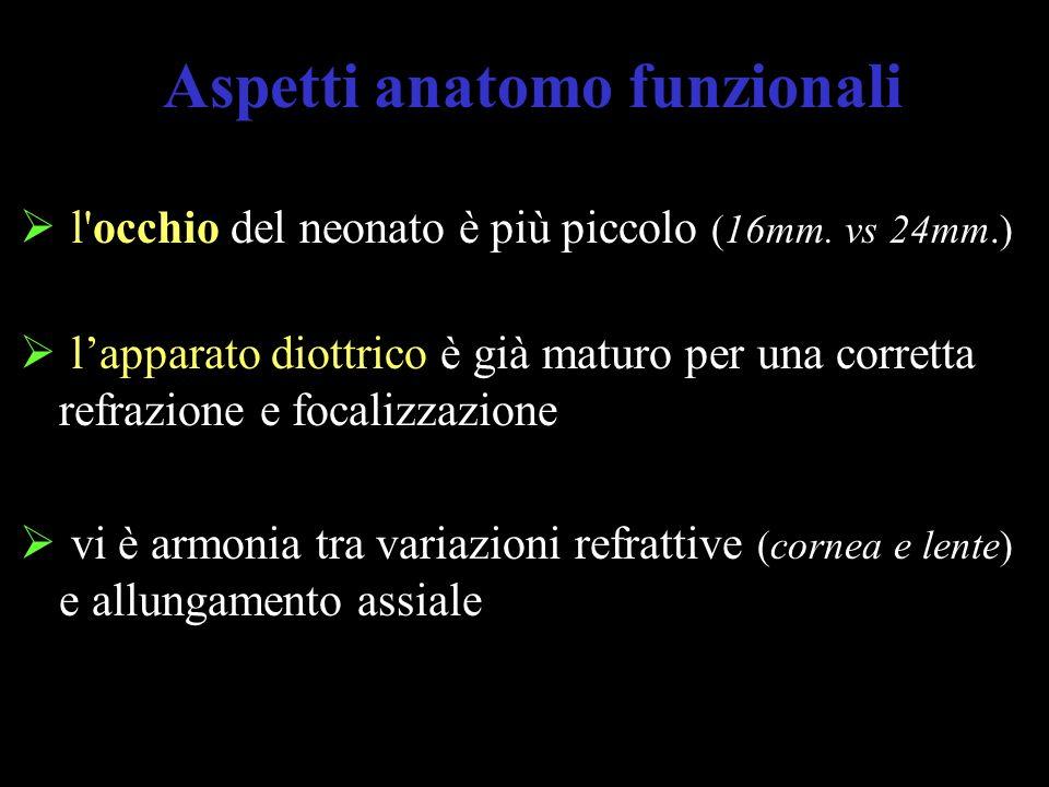 Aspetti anatomo funzionali