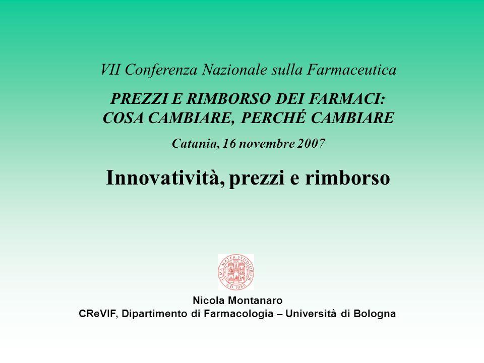Innovatività, prezzi e rimborso