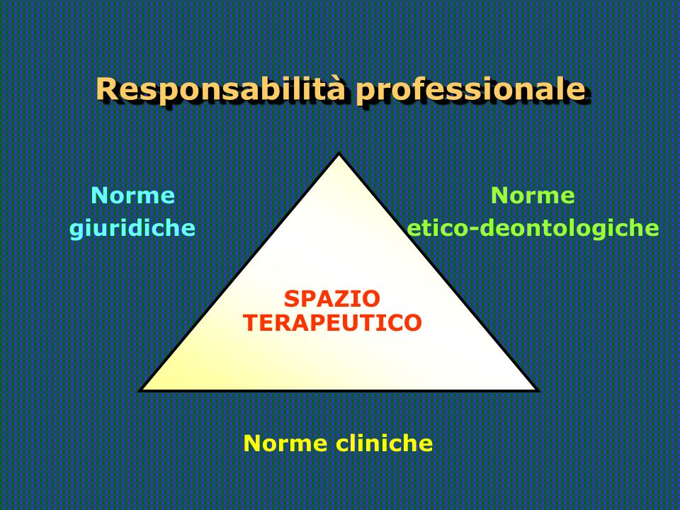 Responsabilità professionale