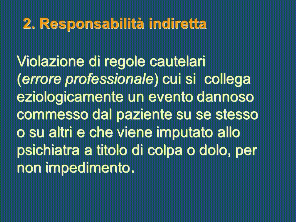 2. Responsabilità indiretta