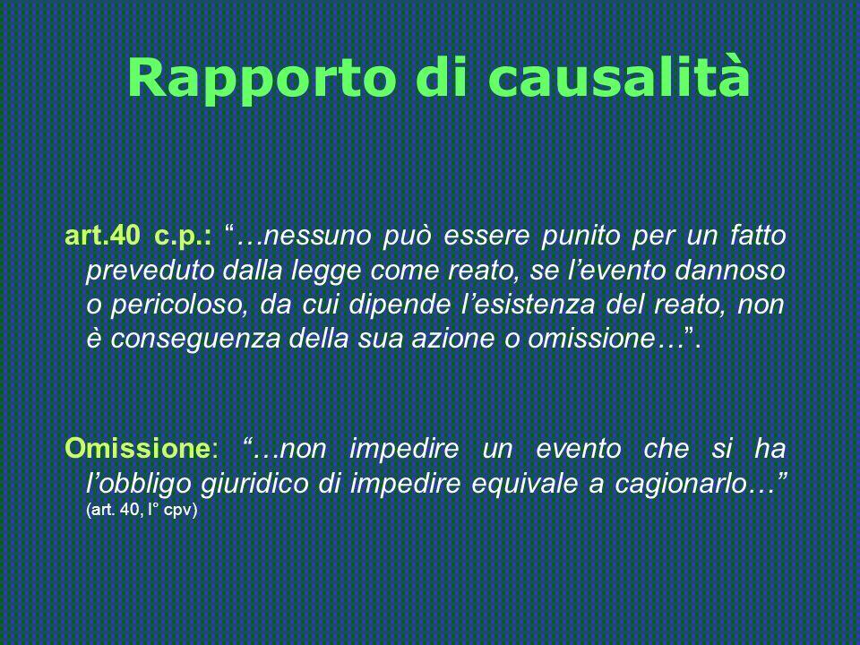 Rapporto di causalità