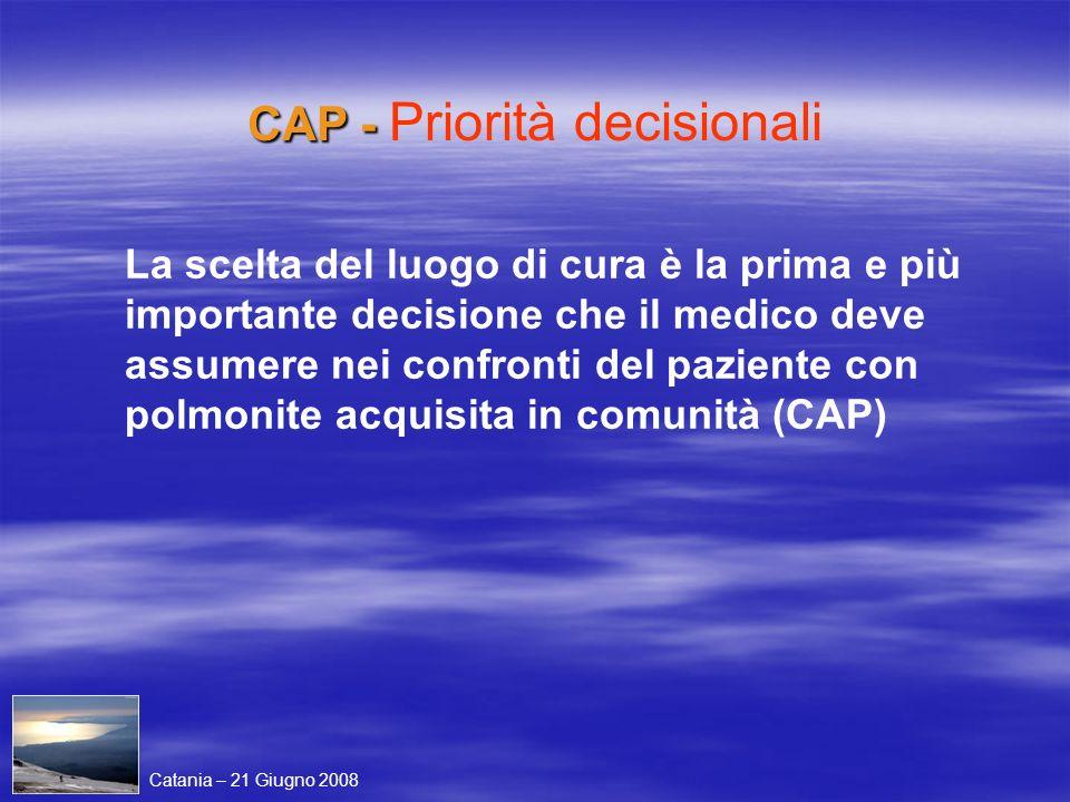 CAP - Priorità decisionali