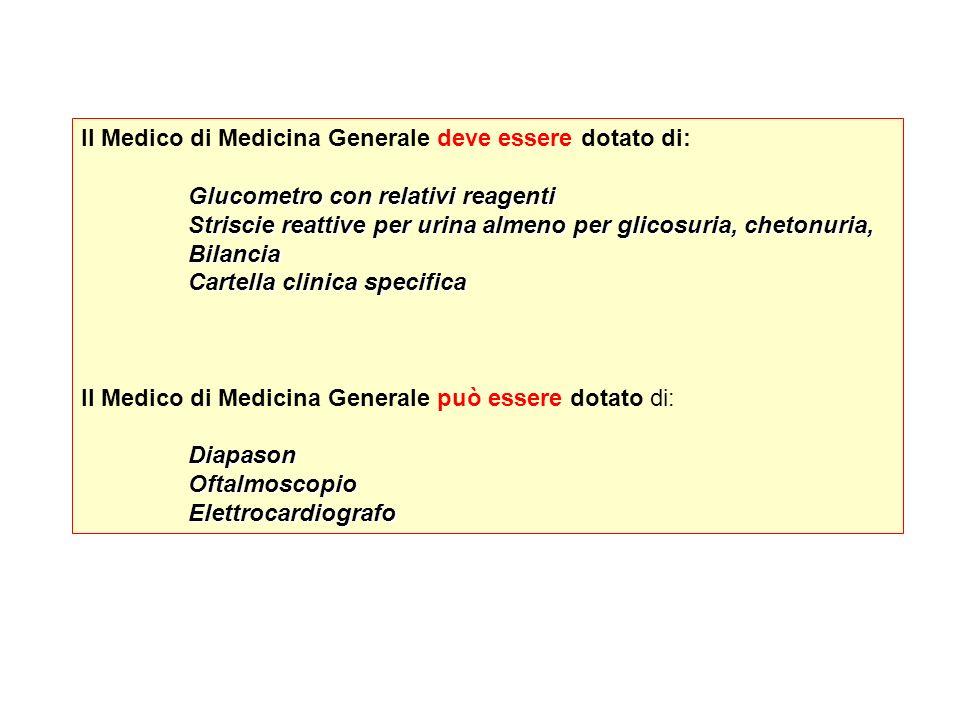 Il Medico di Medicina Generale deve essere dotato di: