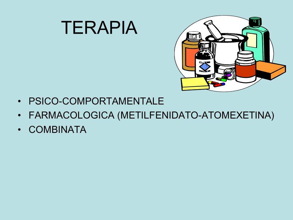 TERAPIA PSICO-COMPORTAMENTALE