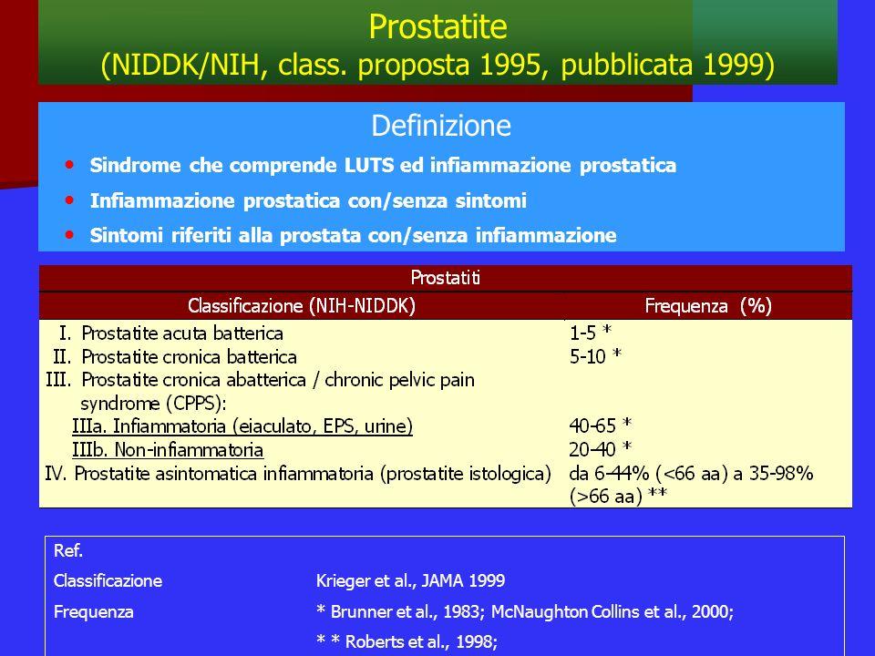 (NIDDK/NIH, class. proposta 1995, pubblicata 1999)