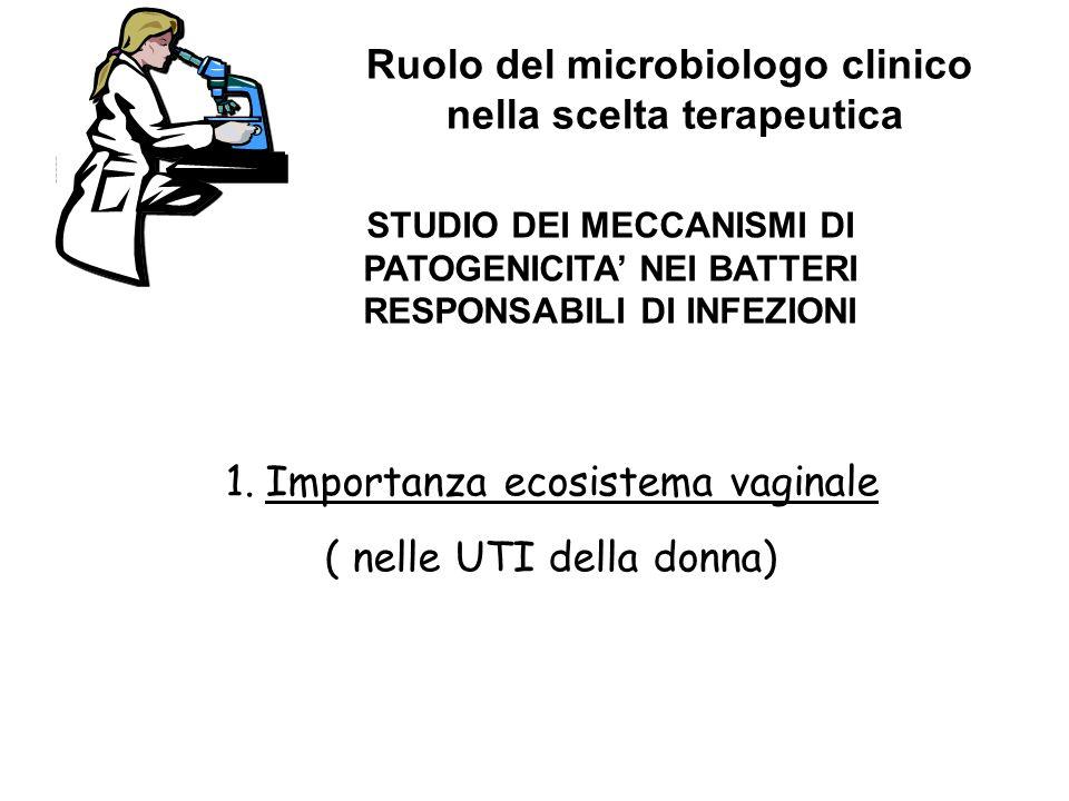 Ruolo del microbiologo clinico nella scelta terapeutica