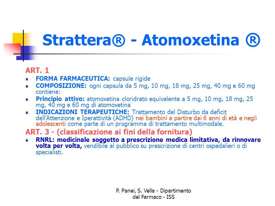 Strattera® - Atomoxetina ®