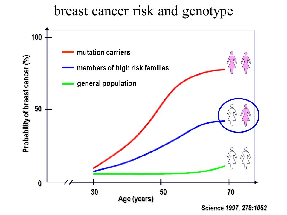 breast cancer risk and genotype