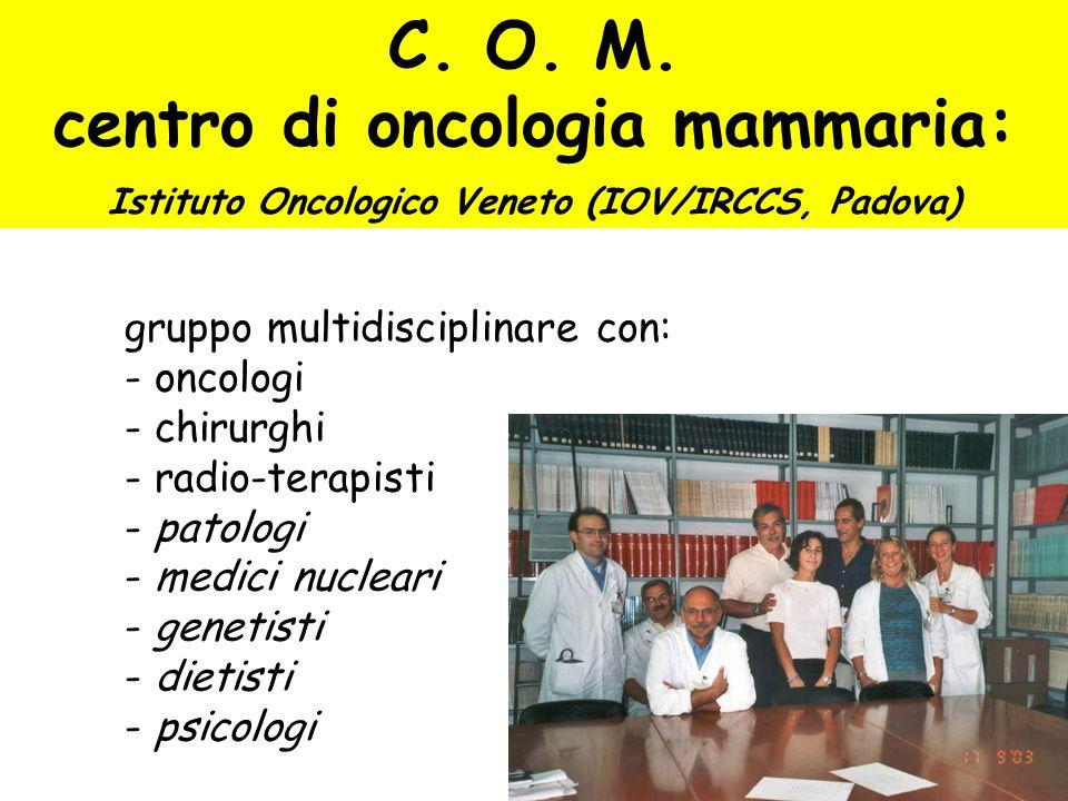 C. O. M. centro di oncologia mammaria: