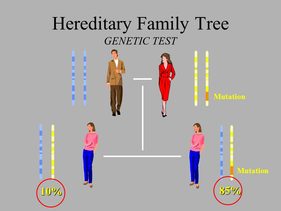 Hereditary Family Tree GENETIC TEST