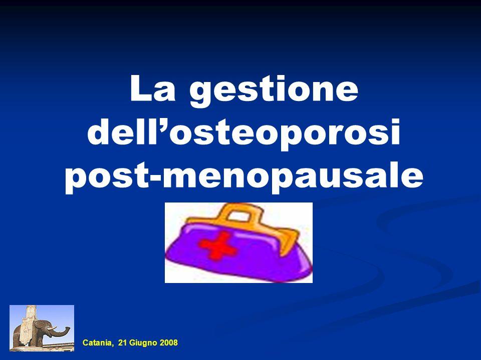 La gestione dell'osteoporosi
